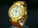Cartier - CARTIER-Pasha chronograph 38 pure gold and leather men (used)