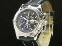 Brightman ring-BREITLING-Kurono mat SS case / leather Hong Kong return memory model 1997-limited