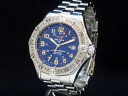 Superocean Breitling - BREITLING - 1000 m automatic self-winding men's Navy dial waterproof SS/SS