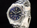 Breitling - BREITLING-Super Ocean 1000 m water resistant black face automatic self-winding SS/SS mens