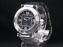 Cartier-CARTIER-pasha sea timer W31077U2 SS/ rubber automatic men's guarantee existence
