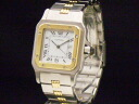 Cartier - CARTEIR - サントスガルベ 18KYG/SS ゴドロンブレス self-winding watch