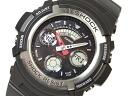 CASIOカシオ Gショック アナログ×デジタルWrist watch Black 海外Model AW-590-1