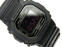 + Casio reimport G shock digital watch マットブラックレッドアイ black polyurethane belt DW-5600MS-1