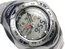 売り切れ御免 CASIO SEA-PATHFINDER カシオ シーパスファインダー 水深計・水圧計・水温計機能Addition アナデジウォッチ Silver Stainless steelBelt 海外Model SPF-60D-7A
