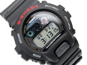 Casio G shock reverse overseas model digital watch black urethane belt DW-6900-1