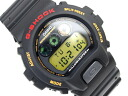 Casio reverse G shock Digital Watch Gold LCD black urethane belt DW-6900G-1