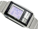 Casio overseas model Futurist ladies digital watch gray × black combination color light purple mirror dial-LA-201WD-6A