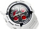 CASIO G-SHOCK Crazy Colorsカシオ 逆輸入Gショック クレイジーカラーズ アナデジWrist watch Black×RedDial WhiteUrethaneBelt AW-591SC-7A