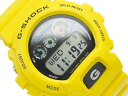 Casio G shock solar digital watch black dial white Crystal yellow urethane belt g-6900A-9
