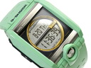Casio G shock overseas model C3 mirror LCD Digital Watch pale green g-8100B-3