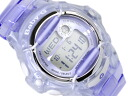 Casio baby G overseas monopoly model ladies digital watch purple dial スケルトンパープル urethane belt BG-169R-6