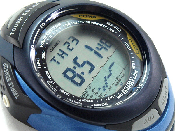 casio pathfinder fishing watch manual