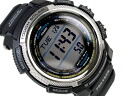 + Casio overseas model protrek triple sensor with digital watch black urethane belt PRW-2000-1
