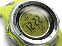 CASIO PRO TREK PROTREK Casio protrek imports overseas model triple sensor with radio solar digital watch yellow PRW-3000-9BER PRW-3000-9B
