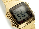 + Standard model digital Unisex Watch Gold A 178WGA-1