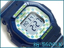 CASIO Baby-G Casio baby G ベビージー-limited model watch lady's blue digital BG-5600CK-2JF