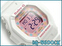 CASIO Baby-G Casio baby G ベビージー-limited model watch Lady's white pink digital BG-5600CK-7JF