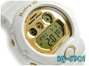 Casio baby G imports models ladies digital watch metallic gold dial white BG-6901-7DR
