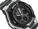 CASIO Casio baby G baby-g Casio baby G baby-g an analog-digital Watch Silver Black BGA-110-1B2DR