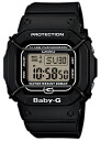 Limited model digital watch black BGD-500-1JR of the 20th anniversary of CASIO Baby-G Casio baby G