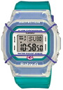 Limited model digital watch turquoise blue BGD-500-3JR of the 20th anniversary of CASIO Baby-G Casio baby G