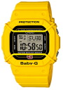 Limited model digital watch yellow BGD-500-9JR of the 20th anniversary of CASIO Baby-G Casio baby G