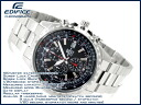 + Casio overseas model edifice men's Chronograph Watch Black Dial stainless steel belt EF-527D-1AV EF-527D-1AVDF