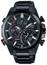 Casio edifice CASIO EDIFICE Bluetooth SMART capable smartphone cooperation model chronograph men's watch-all black EQB-500DC-1AJF