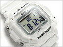 + Imports overseas model standard digital Unisex Watch all white urethane belt F-108WHC-7BEF