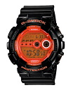 G-Shock G-SHOCK CASIO domestic regular model hyper colors orange black GD-100HC-1JF G-SHOCK G ショックジーショック fs3gm