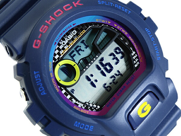 how to set time zone on g shock 5081