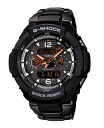 "Casio G shock ""sky cockpit radio solar an analog-digital watch black orange GW-3500BD-1AJF"