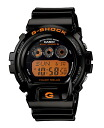 "Casio G shock ""wave solar digital watch black orange GW-6900B-1JF"