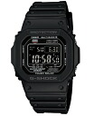 Casio G divers watch radio solar all-black GW-M5610-1BJF