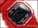 + Casio G shock G-LIDE G ride overseas imports model solar radio digital mens Watch Red / purple GWX-5600C-4DR
