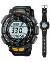 Proto Lec PRO TREK Casio solar digital watch black PRG-240-1JF fs3gm