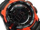 [solar digital watch orange black PRG-270-4DR PRG-270-4 mounted with CASIO PRO TREK PROTREK Casio proto Lec reimportation foreign countries model triple sensor]
