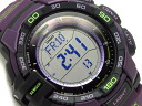 CASIO PRO TREK PROTREK Casio protrek imports overseas model triple sensor with solar digital watch purple PRG-270-6ACR PRG-270-6