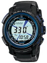 Casio proto Lec solar radio time signal men black X blue series CASIO PROTREK PRW-2000Y-1JF