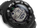 Casio overseas model protrek triple sensor equipped with radio solar digital watch black PRW-2500-1ADR fs3gm