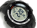 Electric wave solar digital watch black PRW-3000-1DR upup7 mounted with Casio foreign countries model proto Lec triple sensor