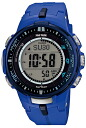 Casio protrek CASIO PRO TREK PROTREK radio solar radio watch men's digital Watch Blue PRW-3000-2BJF