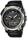 Pat Casio proto Lec CASIO PRO TREK electric wave solar radio time signal watch men's a; the tough solar PRW-5050N-1JF