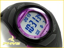 + Casio overseas models Fizz unisex sports training watches black × purple STR-300-1CCF