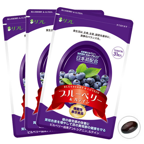 ブルーベリー&ルテイン 3袋組【送料無料】