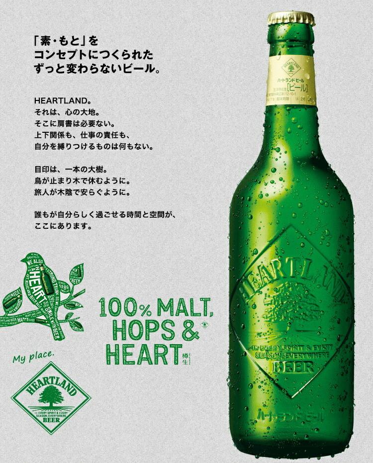 「素・もと」をコンセプトにつくられたずっと変わらないビール
