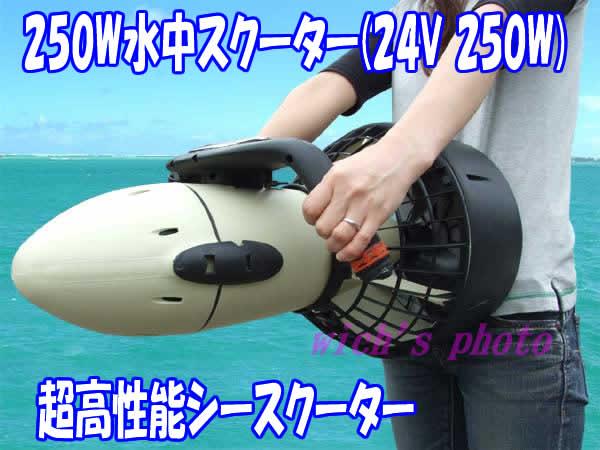 水中スクーター (Diver Propulsion ...