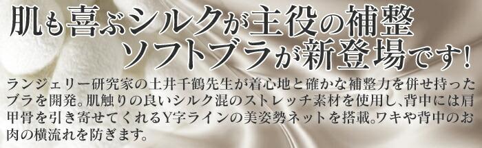 土井さんの ストレッチ シルク ビューティー バスト ブラ