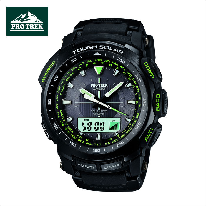������ CASIO �ץ�ȥ�å� PROTREK ������顼�����ӻ��� PRW-5100-1BJF